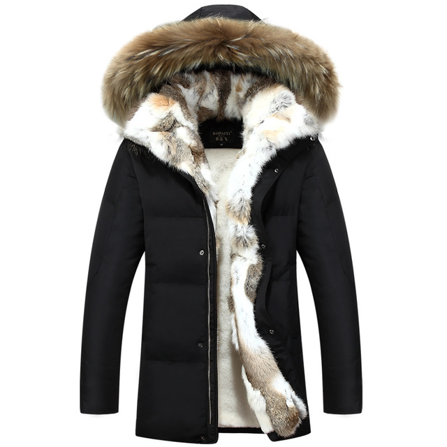 Big Promo Long Hooded Parkas Men Thick Warm Mens Winter Jacket Coat Male Plus Size S-5XL Brand Clothing Man Coat Fur Collar Overcoats