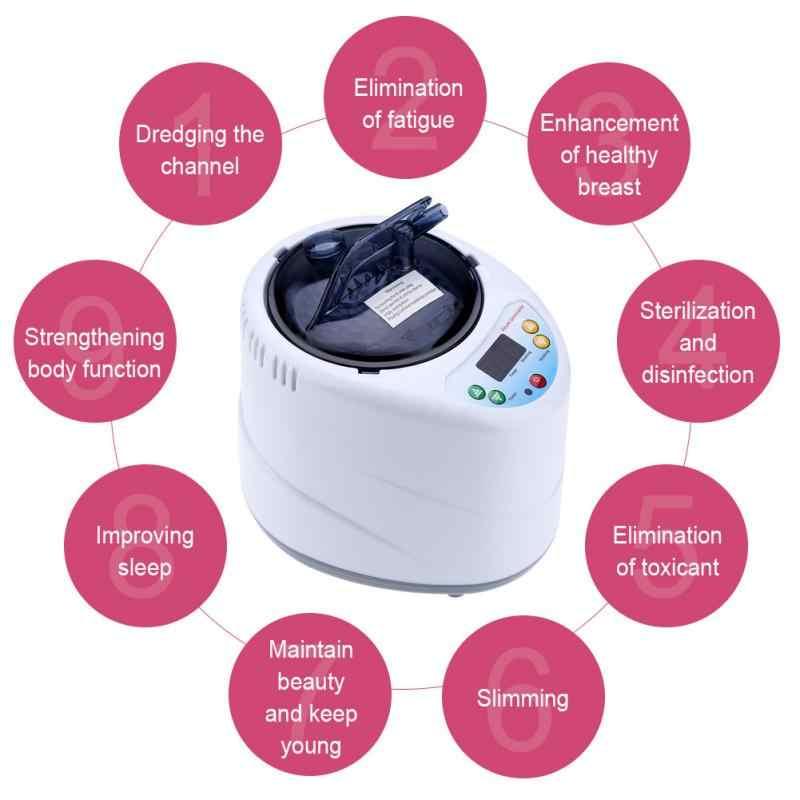 Горячая 220 V 1.5L/2L фумигационная машина надувной парогенератор Бытовая Сауна Спа палатка терапия тела потеря веса сжигаемые калории