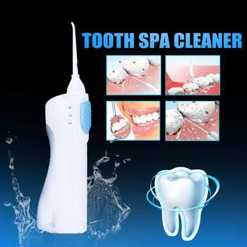 Portable Oral Irrigator Water Dental Flosser Powered Floss Water Jet Toothbrush Teeth Cleaning Machine Dental Brush Tooth SPA
