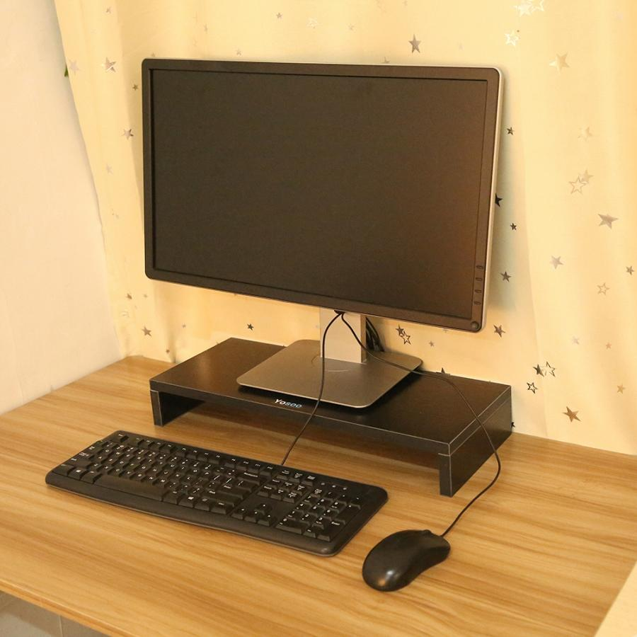 Shelf Riser-Table Computer-Monitor Lcd-Display Laptop-Stand Wooden Reduce-Neck Strain