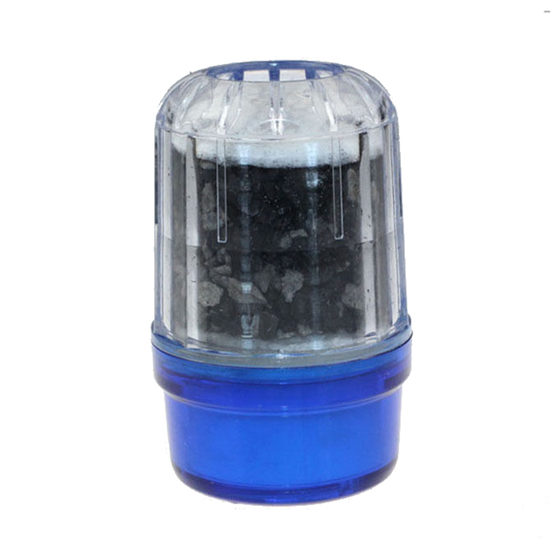 Coconut Carbon Water Purifier Filter Cleaner Cartridge Home Kitchen Faucet Tap, Blue