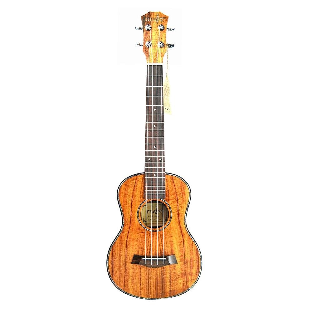Bmdt-ténor ukulélé 26 pouces ukulélé acoustique Mini guitare Acacia ukulélé 4 cordes guitare pour débutant Instruments de musique