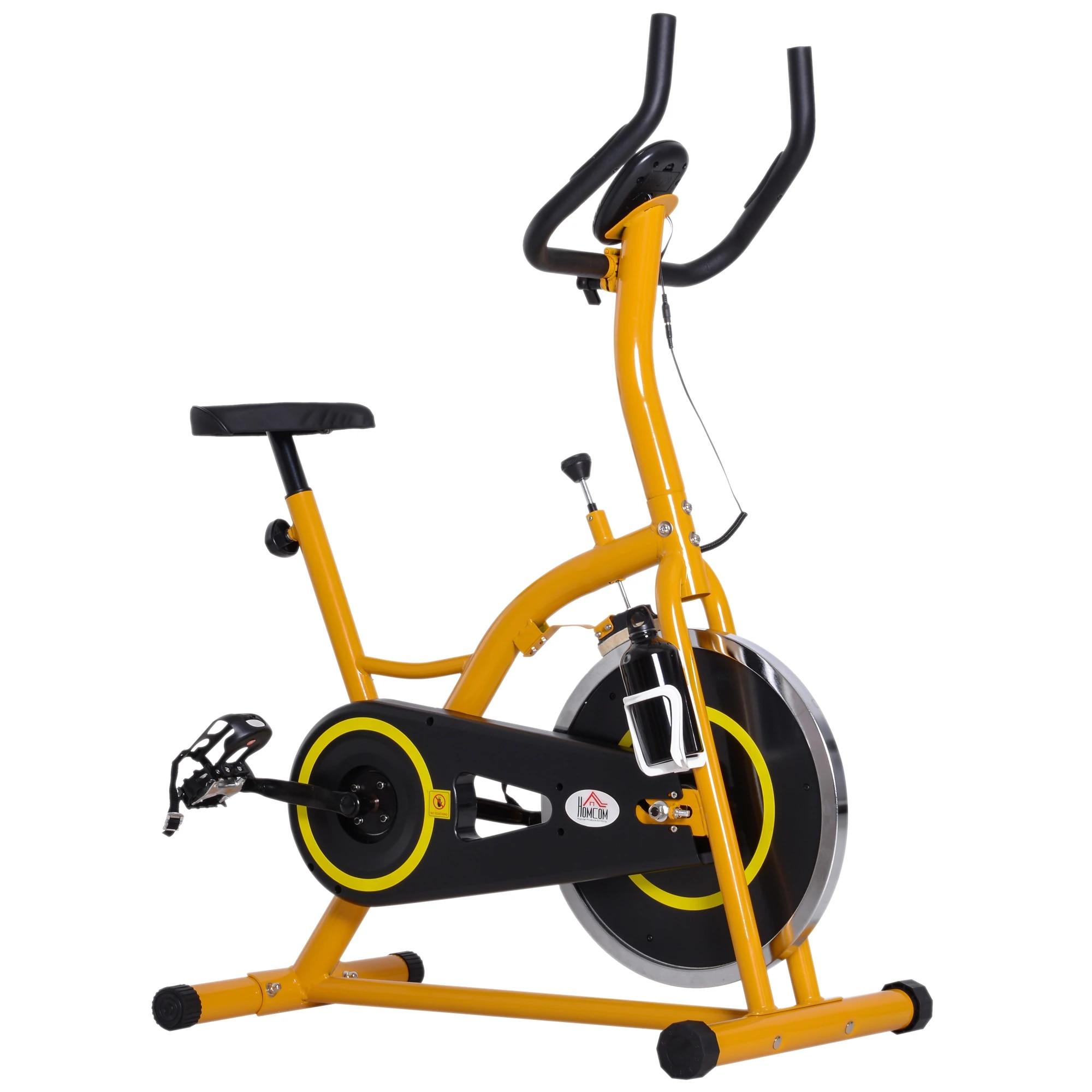ejercicio con bicicleta estatica
