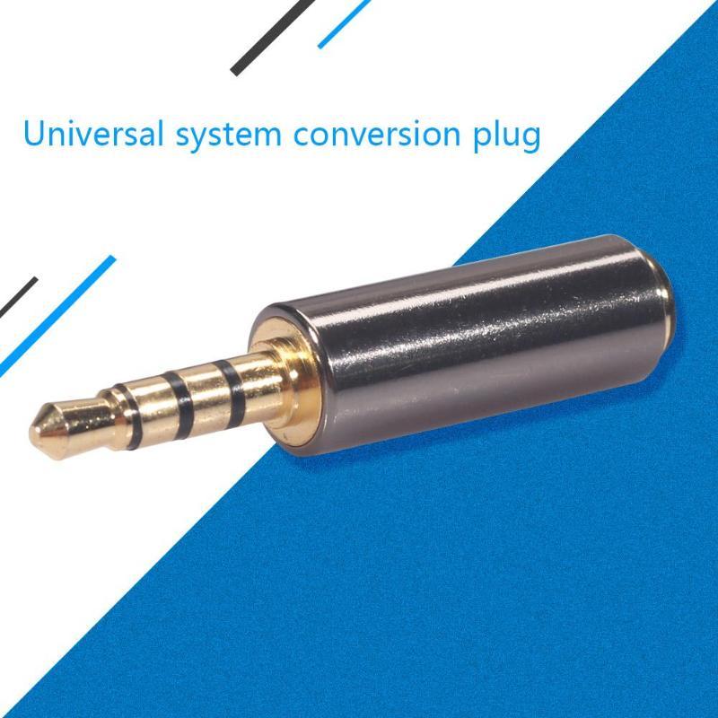 3.5mm Male To Female M/F Stereo Audio Plug CTIA To OMTP Headphone Adapter Two-way OMTP To CTIA Headphone Adapter Plug