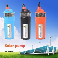 (FREE SHIPPING) Solar Energy Water Pump Dc12v/24v 360lph 70m Lift,Submersible Outdoor Garden Deep Well Car Wash Bilge Cleaning