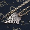 Collier pendentif loup pendentif  5