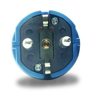 Image 2 - Phích Cắm EU 4000 W 16A Ổ Cắm Bộ Điều Hợp Chống Thấm Nước IP54 Tròn 2Pin Điện Nam Đầu Cắm Schuko To Rewireable Ổ Cắm