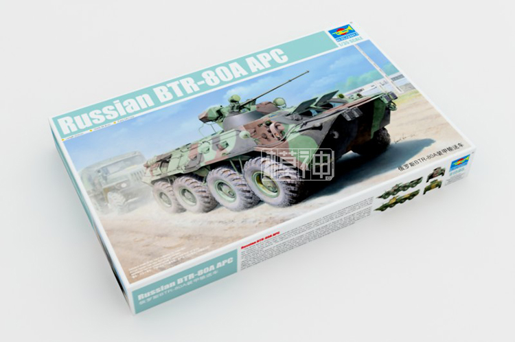 1/35 Russian BTR-80A APC Wheeled Armored Transport Vehicle 015951/35 Russian BTR-80A APC Wheeled Armored Transport Vehicle 01595