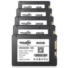 Wooacme unidad interna de estado sólido, W651 SSD, 120GB, 240GB, 480GB, 2,5 pulgadas, SATA III, SSD, Notebook, PC