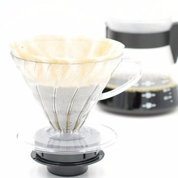 Japan Imports Hario V60 Coffee Filter 01 02 Count Coffee Natural Paper Filters For 4 Cups For Barista VCF-01-100 Dripping Paper 4