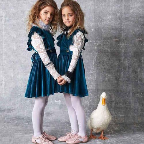 5791e03d1 Detail Feedback Questions about 2019 New Princess Navy Velvet Dress ...