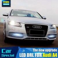 LED Car Light For Audi A4 A4L B8 2009 2010 2011 2012 Car Styling LED DRL Daytime Running Light Daylight Fog Lamp Cover Hole