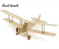 RC Plane Laser Cut Balsa Wood Airplane Micro Tiger Moth DH 82 Frame without Cover Wingspan 400mm Balsa Wood Model Building Kit