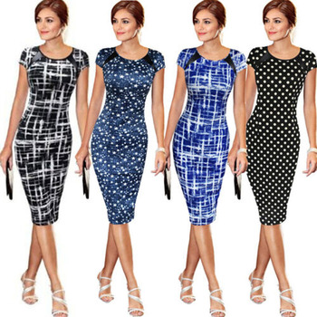 Women Dresses Bodycon Office Formal 1