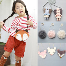 PUDCOCO Fashion Baby Kids Girls Cute Toddler Cartoon Casual Shoulder  Bag
