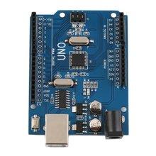 Uno R3 Atmega328P 5 в макетная плата с Загрузчиком Ch340G Usb для Arduino Uno разъемы и терминалы Разъемы