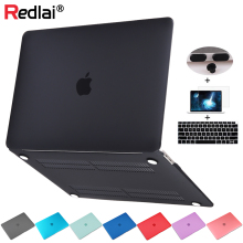 Matte Plastic Hard Case Shell Keyboard Cover Screen Protector For MacBook Air 13 inch 2018 A1932 with Retina Display Air13 A1466