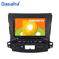 Android Car 8 Touch Screen Android 9.0 Quad Core 2 din Car DVD GPS Navi for Mitsubishi Outlander 2007 Stereo Multimedia Player