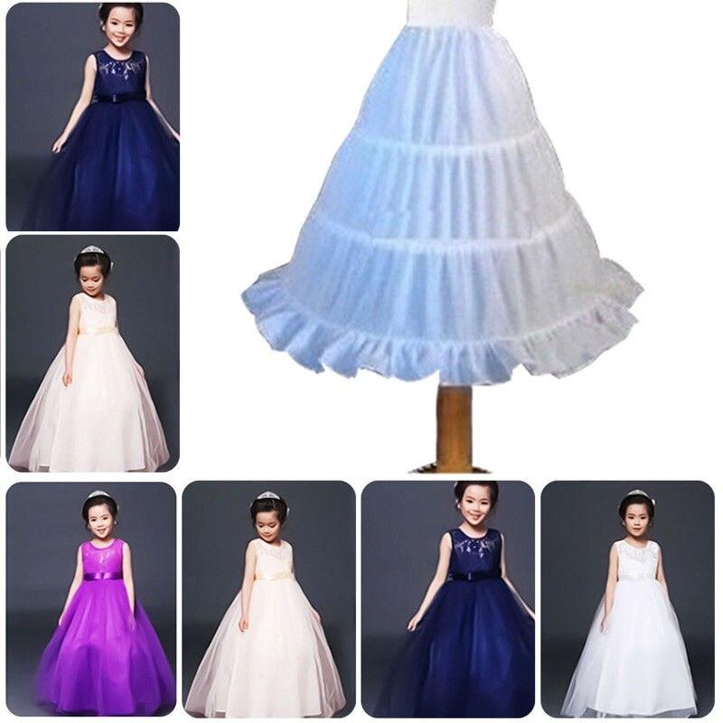 Aus Dem Ausland Importiert Pudcoco 2019 Mädchen Der Petticoat 3 Hoops Unter Die Röcke Blume Mädchen Kinder Breite Krinoline Für Party Promi Petticoats Mutter & Kinder