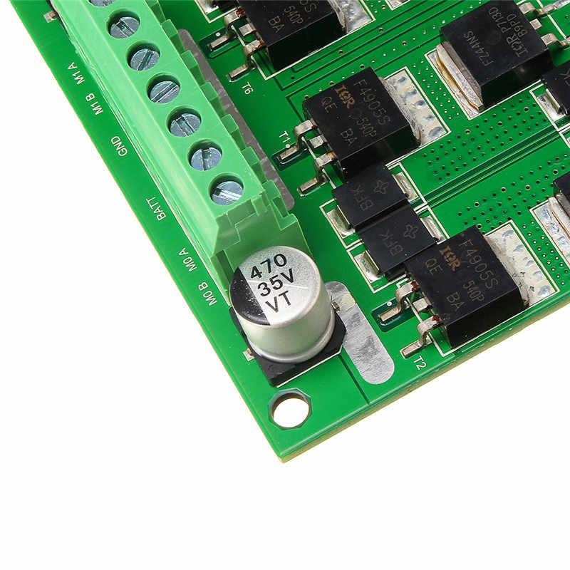 9-15 V 180 W de canal Dual cepillo Motor 12A 10 K-30 K Motor Placa de controlador para Robot automatizado