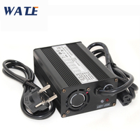50.4V 3A Charger Power Supply Lithium Battery Charger for 12S 44.4V Lypomer Li-ion Scooter Battery Pack