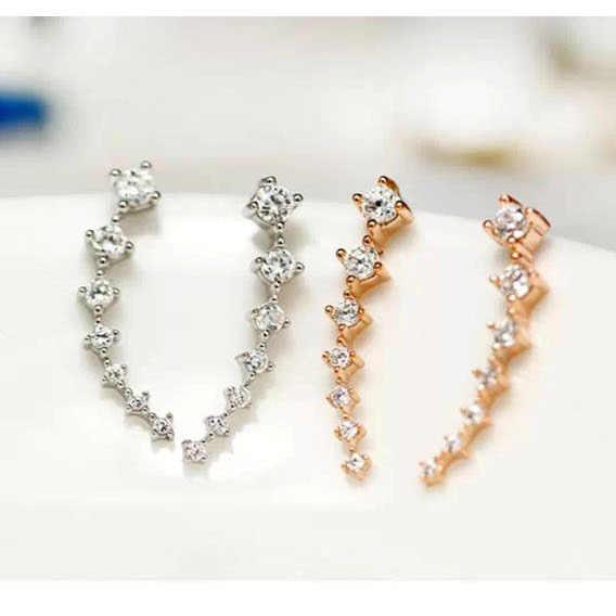 REETI, новинка, высокое качество, супер блестящие циркониевые серьги из стерлингового серебра 925 пробы для женщин, ювелирные изделия, оптовая продажа, подарок, серьги