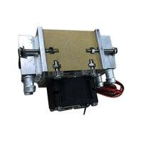 Semiconductor kühlschrank wasser-kühlung klimaanlage Bewegung für kälte und fan DIY 120W TEC Peltier Wasser kühlung luft