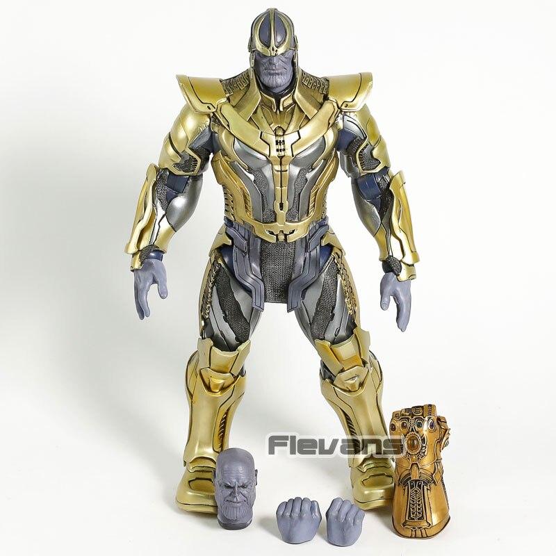 Oyuncaklar ve Hobi Ürünleri'ten Aksiyon ve Oyuncak Figürleri'de Sıcak Oyuncaklar Guardians Galaxy Thanos 1/6 Ölçekli PVC Action Figure Koleksiyon Model Oyuncak'da  Grup 3