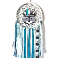 Kids Room INS Nordic Style Indian Chiefs Dream Catcher Wind Chimes Pendant Children's Room Ornaments Hanging Ornaments
