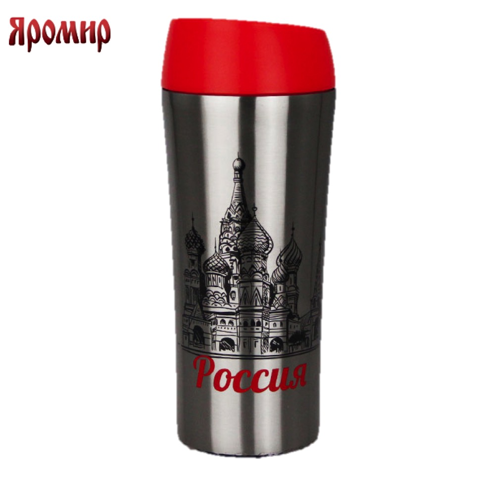 Vacuum Flasks & Thermoses Yaromir YAR-2401M thermomug thermos for tea Cup stainless steel water korean penguin vacuum cup water bottle mug coffee tea stainless steel thermos food jar thermal container insulated soup holder