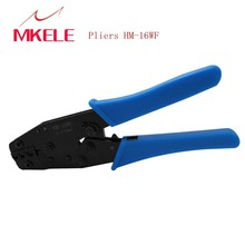 цена на Crimping Pliers HM-16WF Tube Type Needle Terminal Crimper with 300PCS/Box Terminal connector Multifunctional Wire Crimping Tools