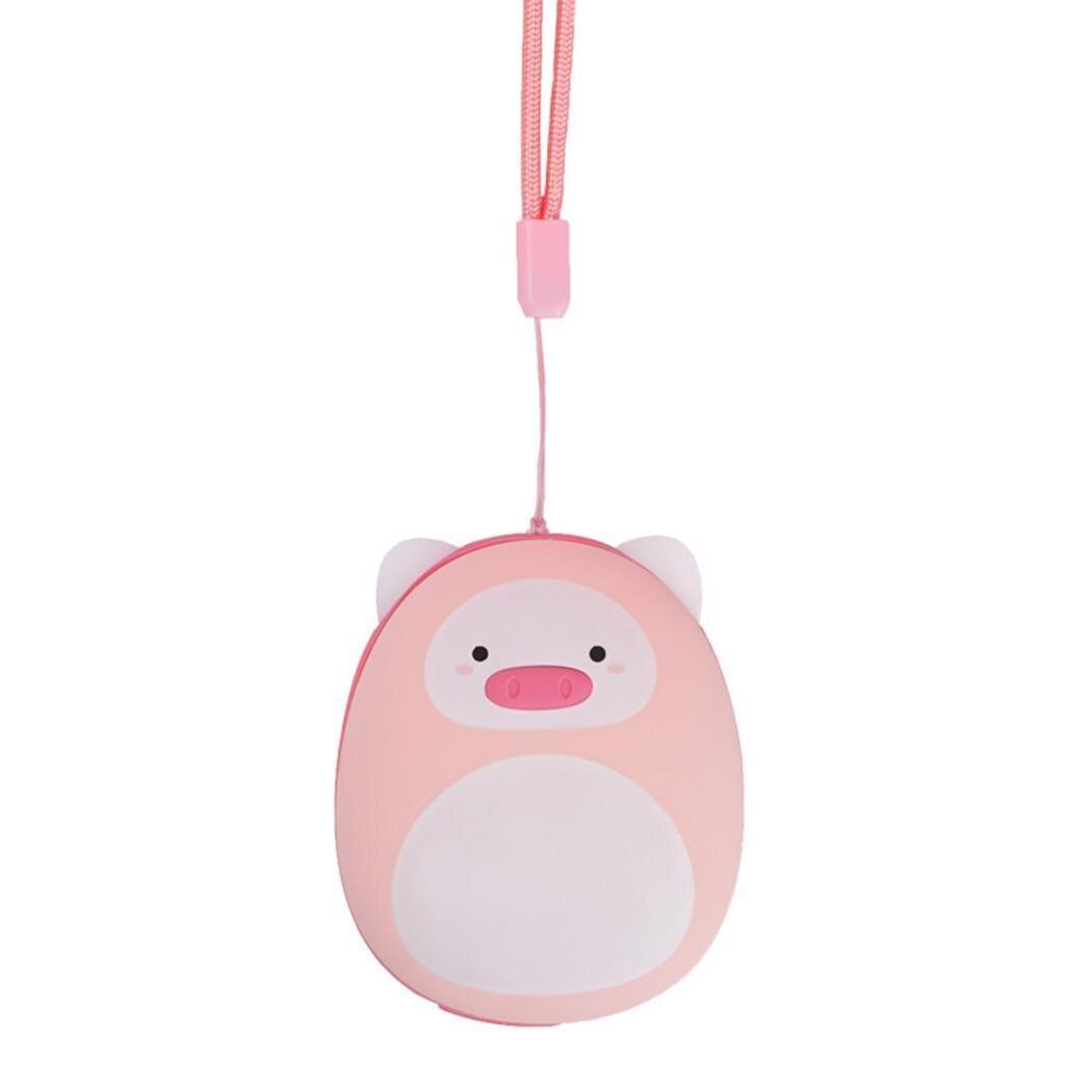 Mignon De Porc En Forme chauffe-mains Mini 4-8 heures 5V-2A Portable USB Rechargeable 5V-1A 3-5 heures batterie externe