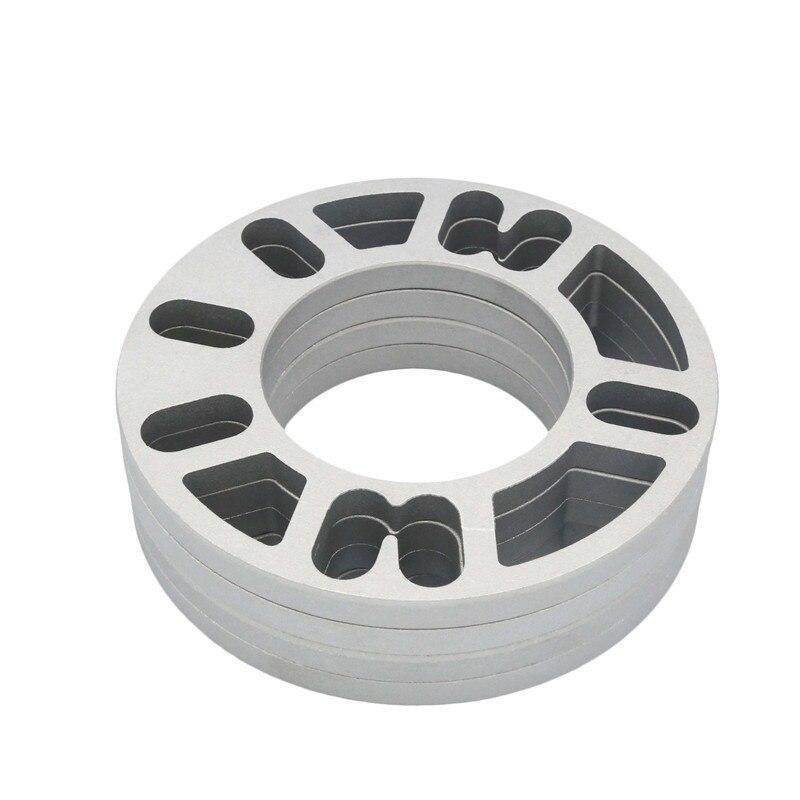 2 PCS Universal Legierung Aluminium 3mm 5mm 8mm 10mm Rad Spacer Distanzscheiben Platte 4 5 STUD für 4x 100 4x114,3 5x 100 5x108 5x114,3 5x120