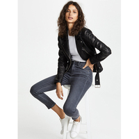 2019 Весна Лето Высокое качество модные джинсовые колготки джинсы тонкие узкие джинсы женские повседневные джинсы *