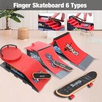 Шт. 1 шт. скейт-парк рампы запчасти палец скейтборд парк для Tech Deck Гриф для Ultimate парки день рождения игрушки подарки для детей