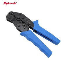 Ratcheting electrical crimpers for sale SN-48B ratchet hand crimper 0.1-1.5mm2 for non-insulated tabs and gauge crimping tool 1pc insulated terminals crimping plier high quality cable ratcheting crimper hand tool for awg22 10