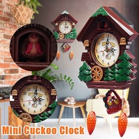 Wall Clock Cuckoo Clock Living Room Bird Alarm Clock Watch Modern Brief Children Decorations Home Day Time Alarm