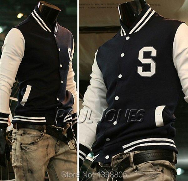 American Style Varsity Letterman University College Hooded Baseball Jacket