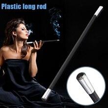 1920's Cigarette Holder Long Smoking Pipe Filter Vintage Style Plastic Rod Smoke WXV Sale