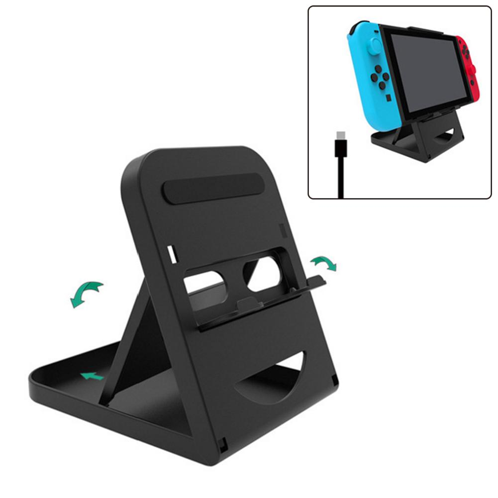 Fashion Game Console Folding Holder Bracket Stand Dock For Nintendo Switch Accessories