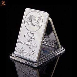 USA Commemorative Coin 1OZ 999 Fine Silver Bullion Bar American Prospector US Union Metal Coin Collectible Value(China)