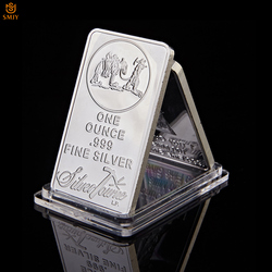 USA pamiątkowa moneta 1 uncja 999 grzywny srebrna złota tabliczka American Prospector US Union metalowa moneta kolekcjonerska wartość