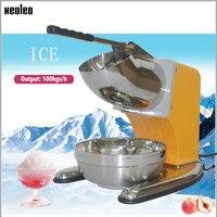 XEOLEO выгодная льдодробилка ледяной коктейль машина для бритья льда снежный конус шлифовальная машина 110 В/220 В оранжевый/розовый/зеленый