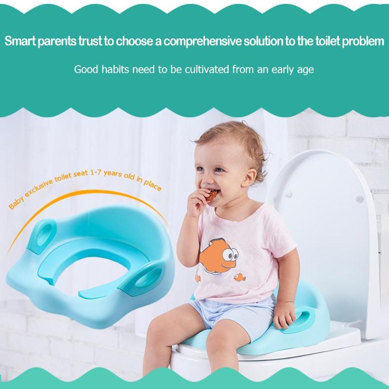Baby Soft Toilet Chair Pad Kids Toilet Potty Seat Portable Infant Toddler Potties for Girl Boy Toilet Training Seat