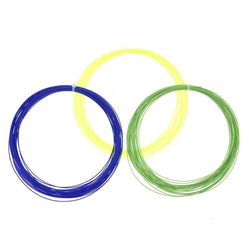 สายแบดมินตันแบดมินตันสตริงทีมทนทาน Repulsion Power Line สุทธิการจัดส่งสีแบบสุ่ม
