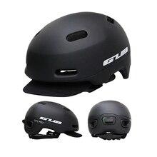 Высокое качество GUB Сверхлегкий велосипедный городской велосипед городской складной велосипедный шлем bmx катание фиксированная Безопасная крышка интегрально-Литые шлемы