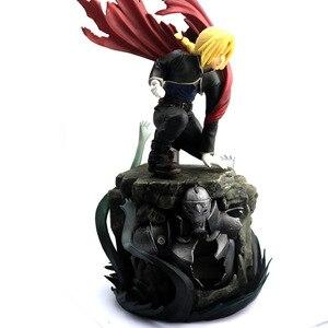 Image 3 - Edward Elric Fullmetal alchimiste Alphonse Elric figurine japonais Anime PVC adulte figurines jouets figurines danime jouet