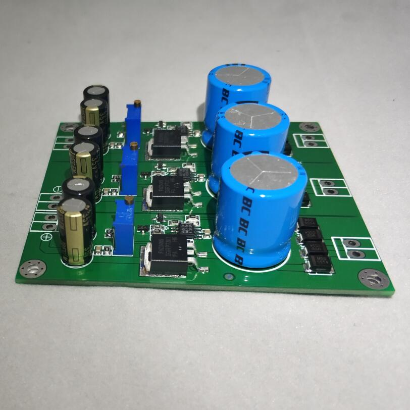 HIFI DAC Power Board Fever DAC Power Supply Board positive negative 12V 5V replace <font><b>LT1963AEQ</b></font> NE5534 amplifier image
