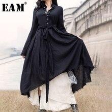 pilili yaka uzun elbise