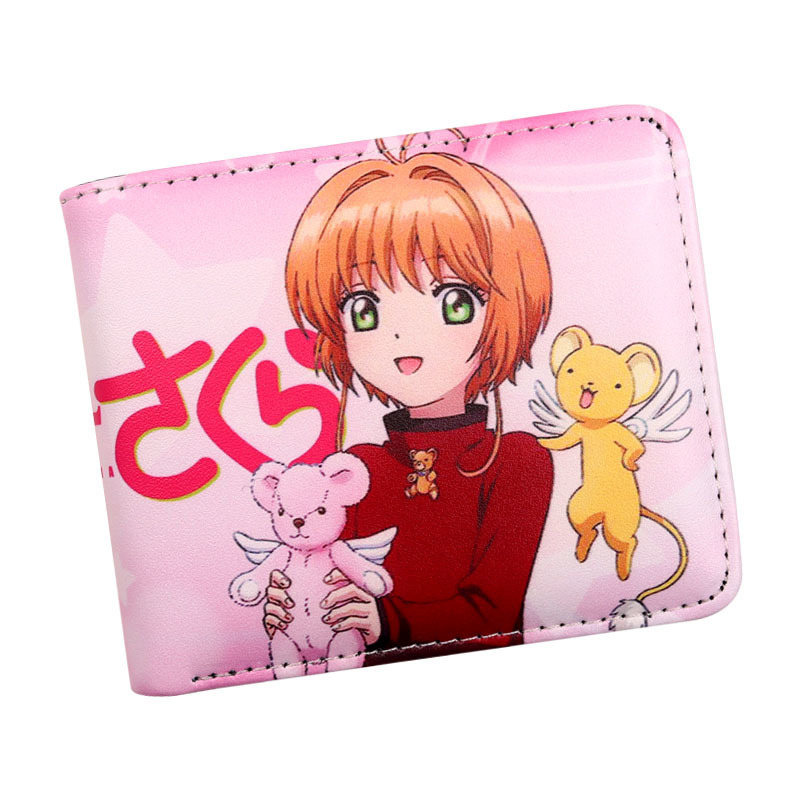 Coin Purses & Holders Coin Purses 2019 Hot Sales Variety Sakura Magic Card Girl Purse Purse Cosmetics Bag Coin Pocket